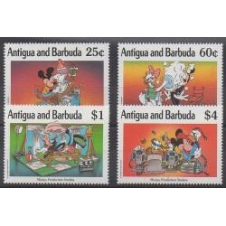 Antigua and Barbuda - 1990 - Nb 1269/1272 - Walt Disney