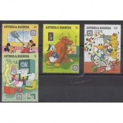 Antigua and Barbuda - 1989 - Nb 1190/1193 - Walt Disney