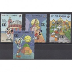 Gambia - 1992 - Nb 1141/1144 - Walt Disney