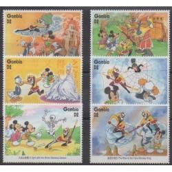 Gambia - 1996 - Nb 2186/2191 - Walt Disney