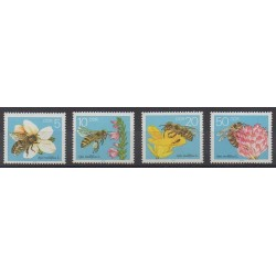 Allemagne orientale (RDA) - 1990 - No 2900/2903 - Insectes