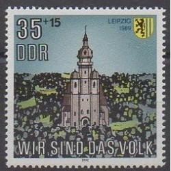 East Germany (GDR) - 1990 - Nb 2919 - Churches