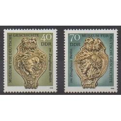 Allemagne orientale (RDA) - 1990 - No 2922/2923 - Art