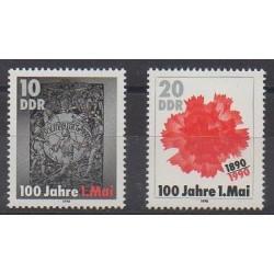 East Germany (GDR) - 1990 - Nb 2931/2932