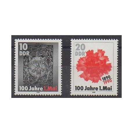 Allemagne orientale (RDA) - 1990 - No 2931/2932