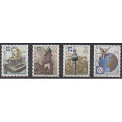 Allemagne orientale (RDA) - 1990 - No 2937/2940 - Sciences et Techniques