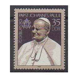 Allemagne orientale (RDA) - 1990 - No 2936 - Papauté