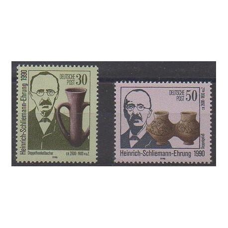 Allemagne orientale (RDA) - 1990 - No 2963/2964