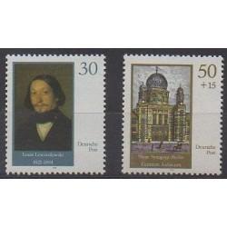 Allemagne orientale (RDA) - 1990 - No 2961/2962