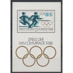 Allemagne orientale (RDA) - 1988 - No BF93 - Jeux Olympiques d'été