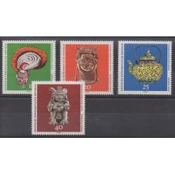 East Germany (GDR) - 1971 - Nb 1322/1325 - Art