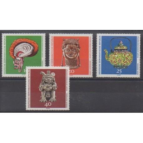 Allemagne orientale (RDA) - 1971 - No 1322/1325 - Art