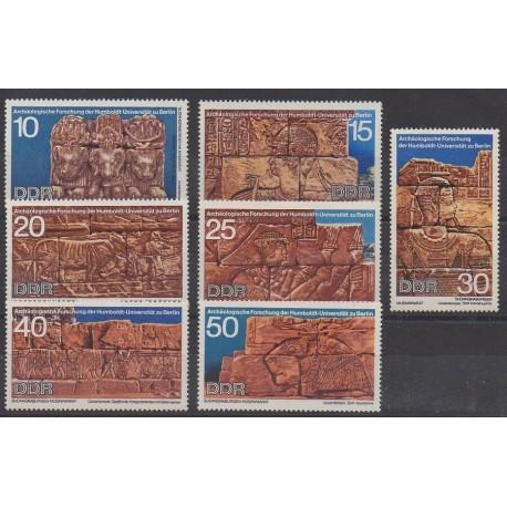 Allemagne orientale (RDA) - 1970 - No 1297/1303 - Art