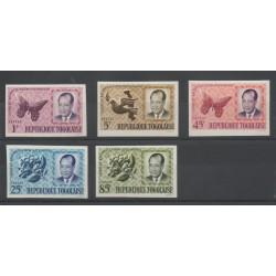 Togo - 1964- No 419/423 ND - Célébrités