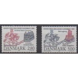 Denmark - 1985 - Nb 841/842 - Various Historics Themes