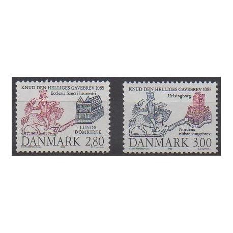 Danemark - 1985 - No 841/842 - Histoire