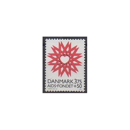 Danemark - 1996 - No 1143 - Santé ou Croix-Rouge