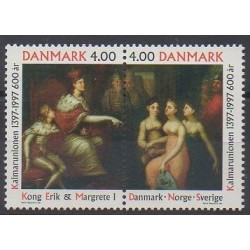 Danemark - 1997 - No 1156/1157 - Peinture