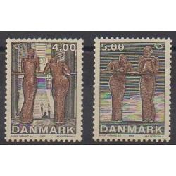 Danemark - 2002 - No 1306/1307 - Art