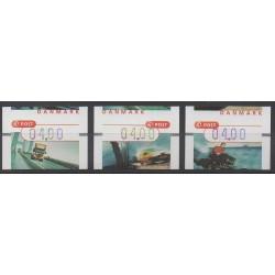 Danemark - 2002 - No TD9/TD11 - Service postal
