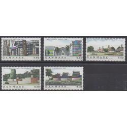 Danemark - 2002 - No 1324/1328 - Architecture