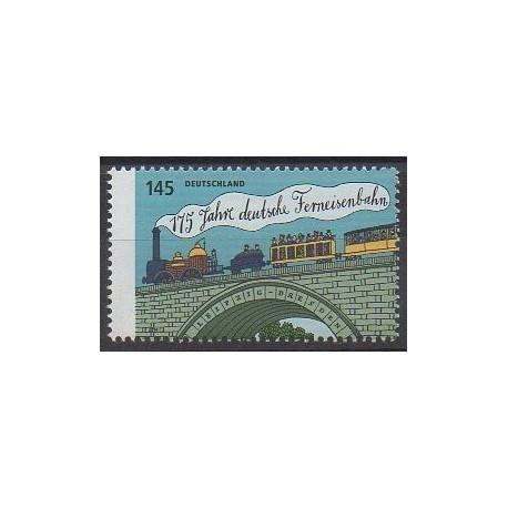 Allemagne - 2014 - No 2889 - Chemins de fer