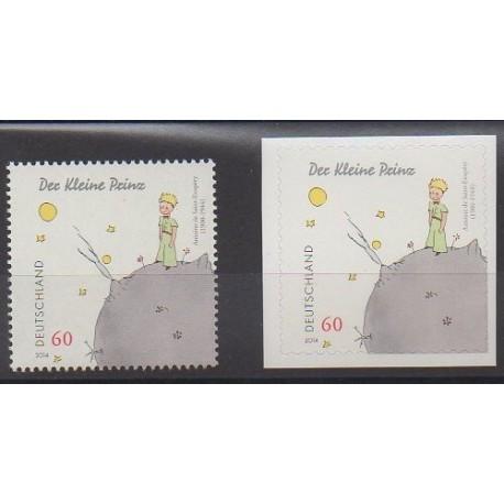 Allemagne - 2014 - No 2918/2918A - Littérature