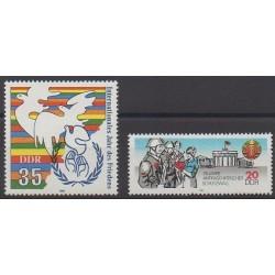 Allemagne orientale (RDA) - 1986 - No 2657/2658