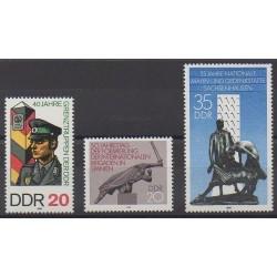 Allemagne orientale (RDA) - 1986 - No 2670/2672