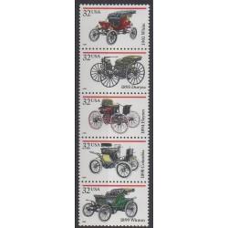 United States - 1995 - Nb 2458/2462 - Cars