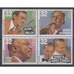 United States - 1996 - Nb 2539/2542 - Music