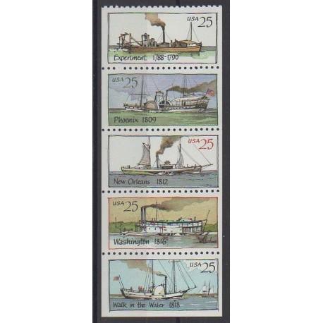 États-Unis - 1989 - No 1854/1858 - Navigation