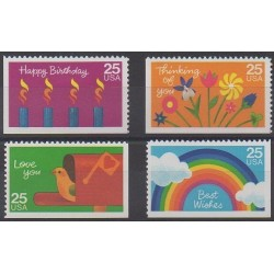 United States - 1988 - Nb 1841/1844