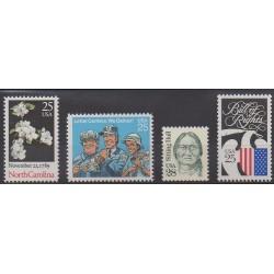 États-Unis - 1989 - No 1869/1872