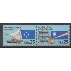 États-Unis - 1990 - No 1915/1916 - Navigation