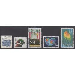 États-Unis - 1991 - No 1935/1939