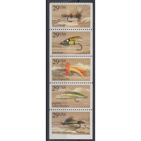 États-Unis - 1991 - No 1946/1950