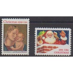 United States - 1991 - Nb 1993/1994 - Christmas