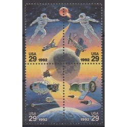 United States - 1992 - Nb 2017/2020 - Space