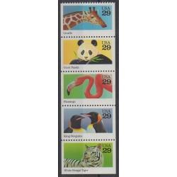 United States - 1992 - Nb 2115/2119 - Animals
