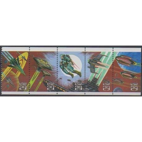 États-Unis - 1993 - No 2132/2136 - Espace