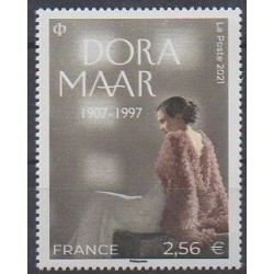 France - Poste - 2021 - No 5491 - Art