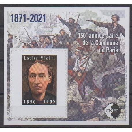 France - Feuillets CNEP - 2021 - No CNEP 86a - Histoire