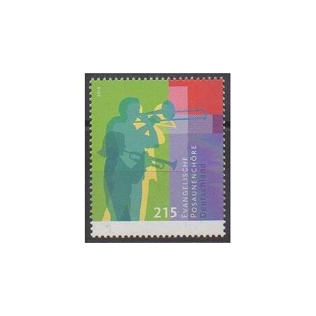 Allemagne - 2014 - No 2882 - Musique