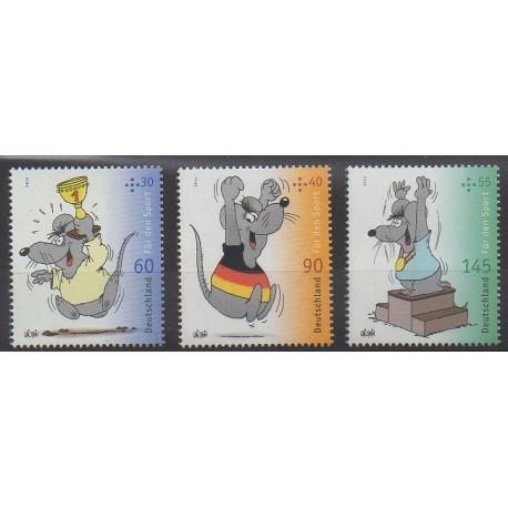 Allemagne - 2014 - No 2895/2897 - Sports divers
