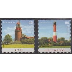 Germany - 2014 - Nb 2908/2909 - Lighthouses