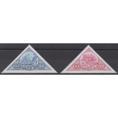 États-Unis - 1997 - No 2584/2585 - Philatélie