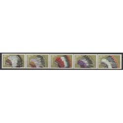 États-Unis - 1990 - No 1909/1913