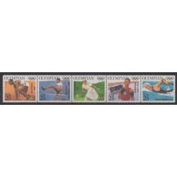 États-Unis - 1990 - No 1904/1908 - Jeux Olympiques d'été
