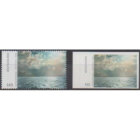 Allemagne - 2013 - No 2837/2838 - Peinture